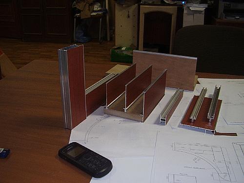 Радиальный шкаф купе производство 02
