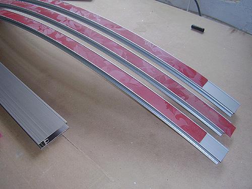 Радиальный шкаф купе производство 09