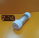 Светодиодный профиль Q1  в 25 трубке и заглушками(герметичный светильник)