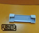 Светодиодный профиль для подсветки витрин А1м с заглушками