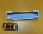 Алюминиевый профиль для освещения витрин А1м с торцевой заглушкой