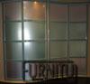 Радиусные двери выполняют роль офисной раздвижной перегородки