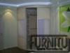Встроенный радиусный шкаф купе цвет слоновая кость с тремя раздвижными дверьми великолепно подойдет для спальной комнаты